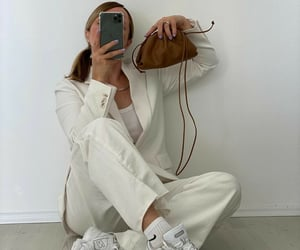 fashion, minimal, and sweet image