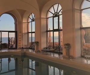 pool, aesthetic, and luxury image