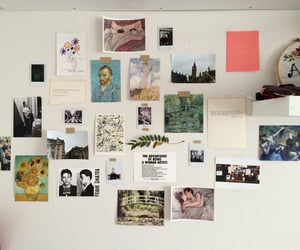art, wall, and room image