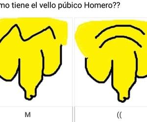 humor, homero simpson, and momazo image