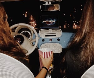 drive in, fashion, and movie image