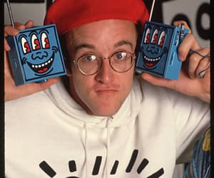 art, artist, and keith haring image