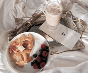 breakfast, chanel, and coffee image