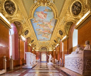 art, le louvre, and france image