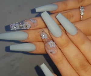 nails, manicure, and design image