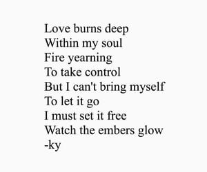 let it go, true love, and fire quotes image