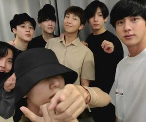 boys, ot7, and seokjin image