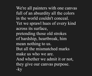 artist quotes, ex quotes, and poems image