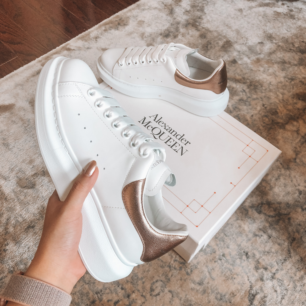fashion, Alexander McQueen, and shoes image