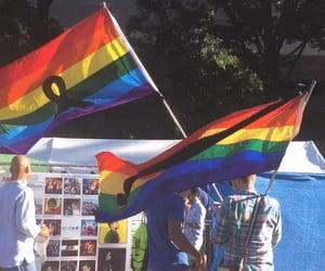 bisexual, gay, and gay pride image