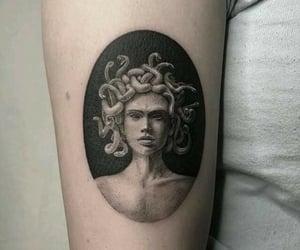 black, goddess, and medusa image