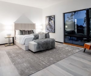 grey and bedroom image