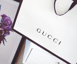 designer, gucci, and hand bag image