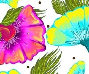 floral, floral print, and header image