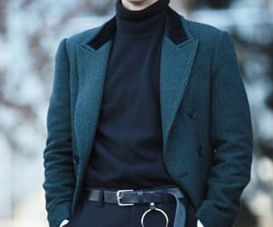 blazer, button up, and casual fashion image