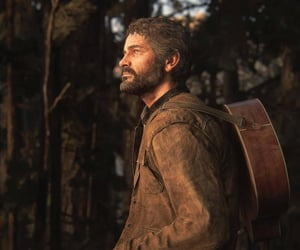 Joel, videogame, and the last of us image