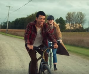 Elle Fanning, justice smith, and all the bright places image