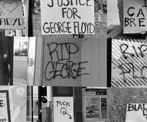 justice, protest, and stop the violence image