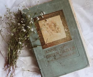 book, vintage, and anne of green gables image