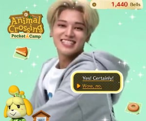 animal crossing, ateez, and edit image