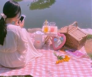 basket, beautiful day, and picnic image