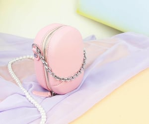 accessories, pink, and bags image
