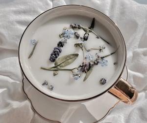 milk, tea, and aesthetic image