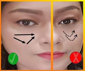 make up, make up tips, and makeup tips image
