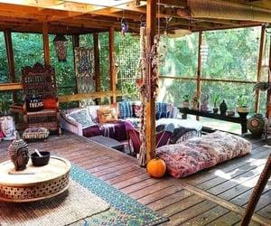 hippie, spiritual, and bohemian style image