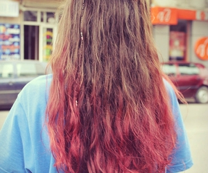 awesome, beautiful, and pink hair image