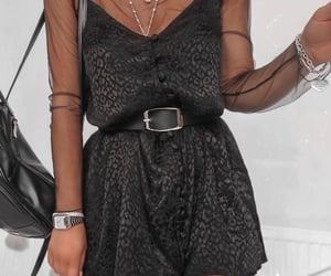 bag, accessories, and dress image