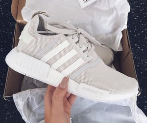 adidas, beige, and nails image