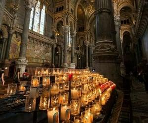 candles, Catholic, and church image