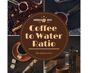 coffee to water ratio image