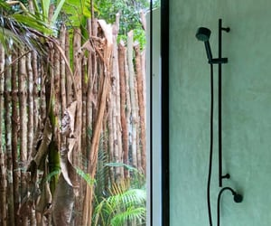 bathroom, green, and mexico image
