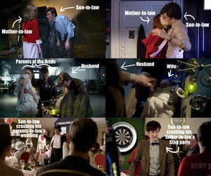 doctor who, love, and rory image