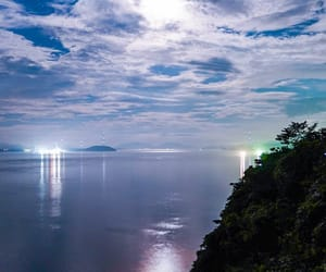 japan, night, and view image