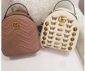 gucci, purses, and backpacks image