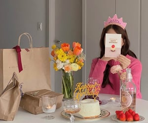 birthday, cake, and dessert image