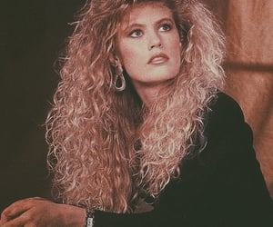 80s and hair image