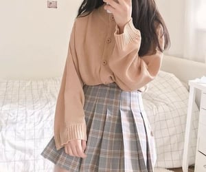 dress, soft, and style image
