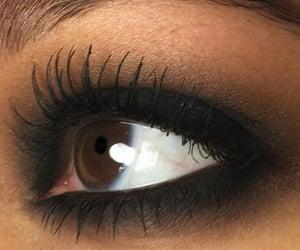 aesthetics, makeup, and smoky eyes image