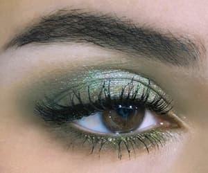 eyes, makeup, and smoky eyes image
