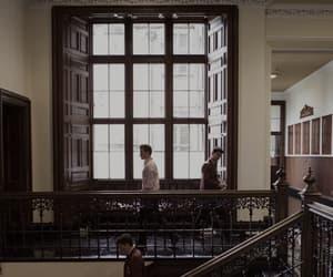 boarding school, boys, and dorm image