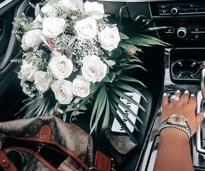 14, bmw, and flowers image