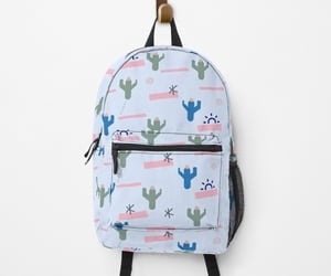 backpack, cactus, and modern image