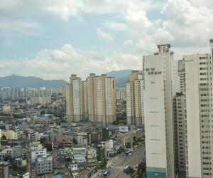 city, korea, and south korea image