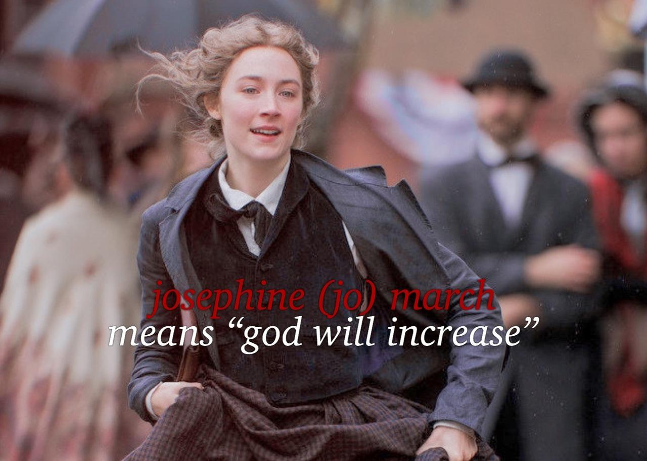 jo, Saoirse Ronan, and little women image