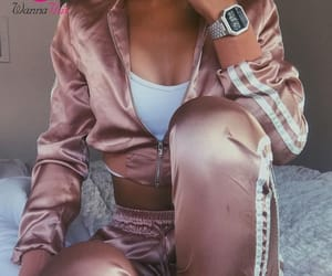 fashion, rose gold, and playsuit image