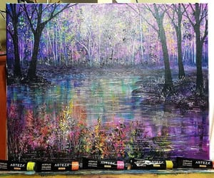 arboles, colores, and naturaleza image